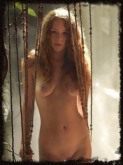 Like a girl in the mist, this model Kia has soft red hair a body like an angel and wonderful pictures.