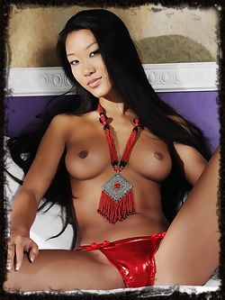 Mariko is an Asian bombshell with long dark hair a smoking hot body and intense eyes that seem to burn.