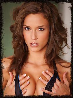 Malena Morgan's breathtaking beauty and allure lovingly captured in an ample number of explicit close-ups.
